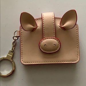 Late Spade Pig Card Case